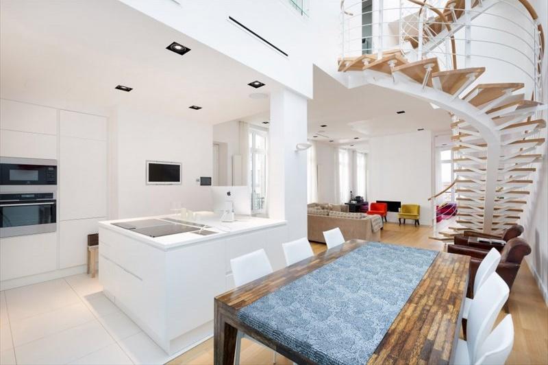 vente paris 8 vente appartement de standing en duplex 3 chambres franklin roosevelt montaigne. Black Bedroom Furniture Sets. Home Design Ideas